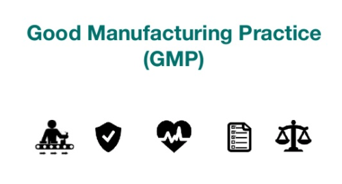 Good Manufacturing Practice icons